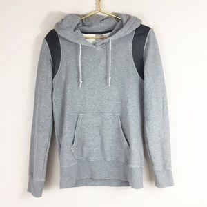 Nike Sweatshirt with Lamb leather panels